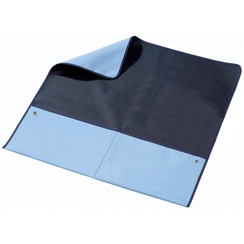 80721-MAT, FIELD SVC, PORTABLE, BLUE BLACK, 0.6Mx0.6M, 2x10MM STUDS